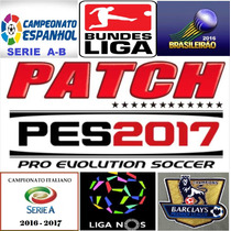 Patch Pes 2017 Para Ps3 Atualizadissimo + Bundesliga