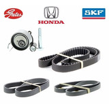 Kit Correia Dentada Altern. Tensor Honda Civic 1.7 16v 2001/