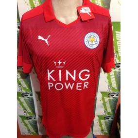 Jersey Puma 100%original Leicester City Inglaterra 2016visit