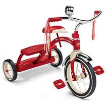 Triciclo Clasico Rojo Niños (a) Radio Flyer