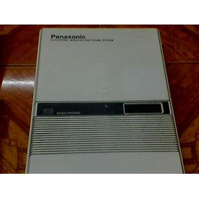 Conmutadores Panasonic 3, 6, 12, Lineas - 8, 16 Y-32 Exts