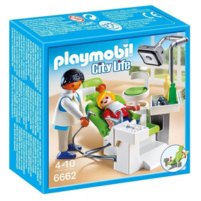 6662 Playmobil - Dentista Com Paciente