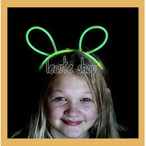 10 Diademas Lumninosa Neon Conejo Raton Mickey Conejito Luz