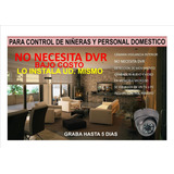 Camara Cctv Dvr Integrada Deteccion De Movimiento, Microsd