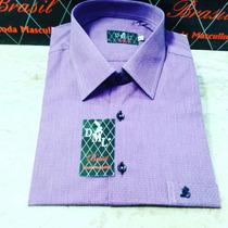 Camisas Tamanhos Grandes Numeros 6, 7, 8 100%algodão Fio 70