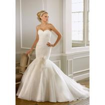 Vestido De Noiva Maravilhoso! Novo!!!! Sem Uso!!!!