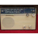 Patacão Radio Antigo Philips All Transistor Funcionando