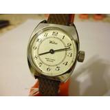 Reloj Watra Dama Swiss Made Ancre 17 Rubis Malla Funcionando