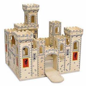 1329 Castillo Medieval Plegable 100% Madera Melissa & Doug