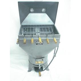 Churrasqueira Gaucha A Gás E A Carvão 15 K A Bafo C/ Kit Gás