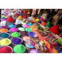 Tinta Em Pó A Base De Amido E Corante Para Festa Holi Color