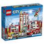 Juguete Parque De Bomberos Lego City