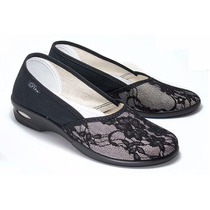 Zapato Tela Encaje Pira