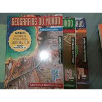 Livros Geografias Do Mundo 6°, 7°, 8° Ano (manual Professor)