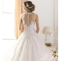 Vestido Noiva Com Véu Casamento Lindo Envio Imediato