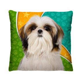 46b73d2406124 Almofadas Decorativas Cachorros Raça Shih Tzu Ou Shihtzu