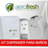 Kit Dispenser Jabon Liquido 900c + Higienico + Toallas Papel
