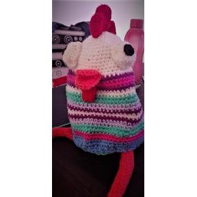 Gallina Decorativa A Crochet