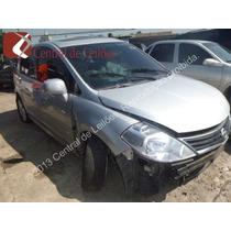 Nissan Tida 1.8 S 16 V 2010 Mecanico Banco Couro
