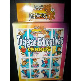 Gcg Tarjetas Educativas De Verbos Ingles Y Español