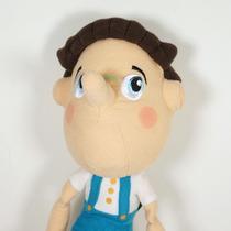 Boneco Pelúcia Pinóquio 35cm Shrek Gato Botas Fiona Dragão