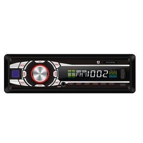 Radio Automotivo Mp3 C3 Tech Com Entrada Usb, Sd, Mmc