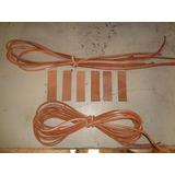 Tiento Bombo 10 Metros + 6 Amarres. Kit Completo