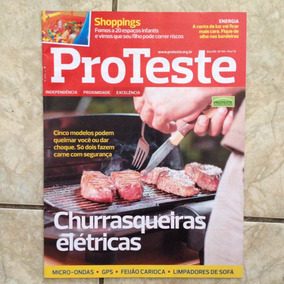 Revista Proteste 143 2/2015 Cinco Churrasqueiras Elétricas