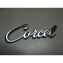 Corcel Até 1977 Assinatura Réplica Em Metal Novo