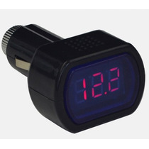 Probador De Voltaje De Bateria De Auto Digital Lcd