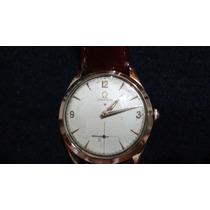 Relógio Omega Perfeito, Todo Em Ouro 750.