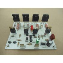 Placa Montada Amplificador 250wrms Classe Ab