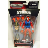 --- Marvel Legends Scarle Spiderman Serie Wave Rhino ---
