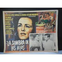 Marga Lopez, La Sombra De Los Hijos, Cartel De Cine