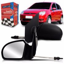 Retrovisor Fiesta 2003 A 2011 Manual Le Retrovex