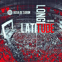 Cd Rosa De Saron Latitude, Longitude Ao Vivo Rock Pop Mpb
