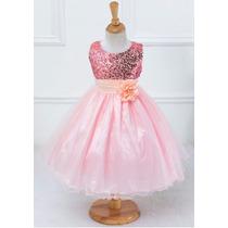 Vestido Infantil De Festa Modelo Barbie Princesa