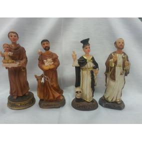 Imagens De Santos Em Resina De 9cm (aparecida, Graças, Santa