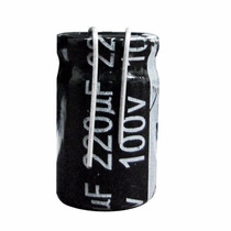 Capacitor 220uf X 100v Corte P/ Alto-falantes 6x9 Polegadas