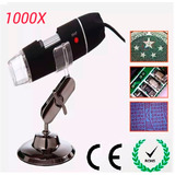 Cámara Endoscopio Microscopio Digital Usb 8 Led 2mp 1000x