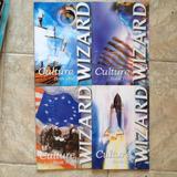 4 Livros Culture Book Wizard (one, Two, Three E Five) Inglês
