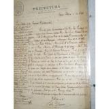 Documento Perteneciente Al Archivo De Jose Santos Chocano