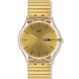 Reloj Swatch Dazzling Light Suok702 Envio Gratis