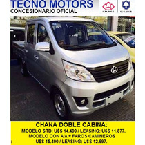 Chana Doble Cabina, Tecno Motors Concesionario Oficial
