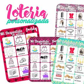 Loteria Despedida 50 Tablas Soltera Loteria Despedida