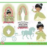 Kit Imprimible Princesa Y El Sapo Tiana Imagenes Cod 3