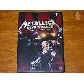 Dvd Metallica Live In Lisbon 2008 - Frete R$ 13,00