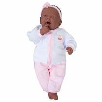 Boneca Bebe Ninos Negra - Parece Bebe De Verdade