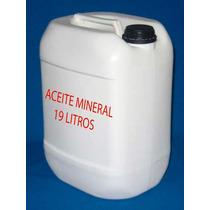 Aceite Mineral Puro Garrafon De 18 Kg(19 Litros)