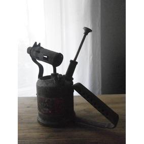 Soplete Antiguo En Bronce. Sievert, Sueco. (perilla Ilsa)